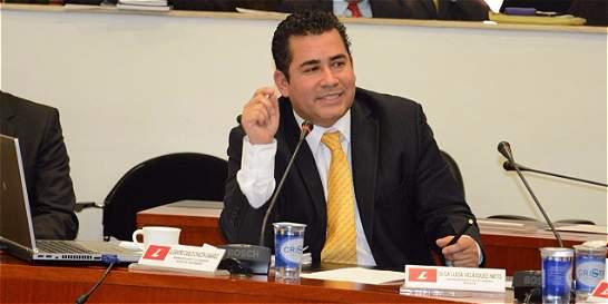 Alejandro Chacón, el más opcionado para ser presidente de la Cámara
