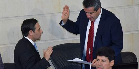 Mauricio Lizcano elegido como nuevo presidente del Congreso