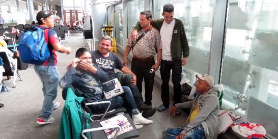 No se sabe dónde están los cubanos que pedían refugio