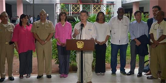 Presidente Santos dio instrucción para negociar tratado con Nicaragua