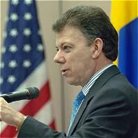 'Nunca habíamos tenido un respaldo tan contundente de EE. UU': Santos
