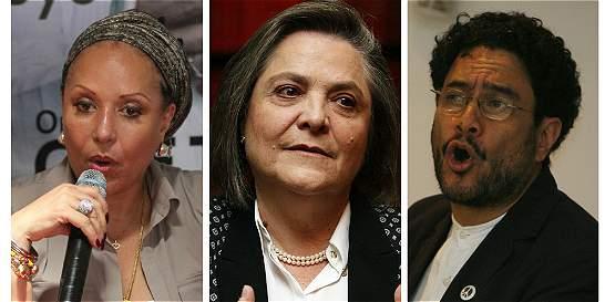 Piedad Córdoba, Clara López e Iván Cepeda piden protección en Palacio