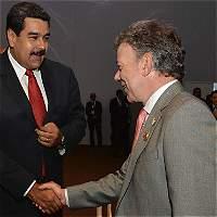Santos reveló detalles de la reunión que tuvo con Maduro en Costa Rica