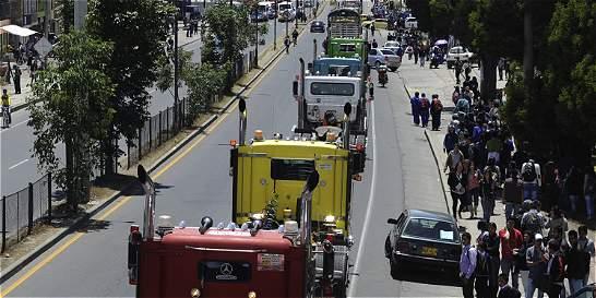 Gobierno denuncia la presencia de saboteadores en paro camionero