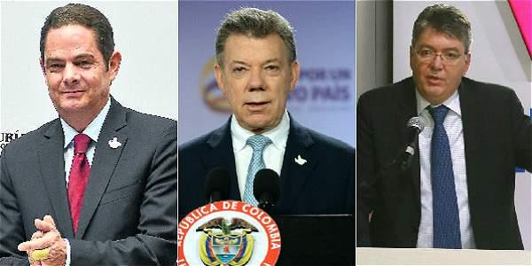 Santos intentará mediar entre el vicepresidente y Minhacienda.