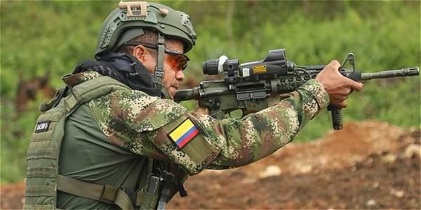 Resultado de imagen para militares colombia