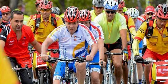 'Los ciclistas son nuestros mejores embajadores': Juan Manuel Santos