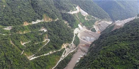 Hidroituango ya está construida en un 35 por ciento