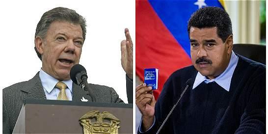 No hay cita entre Juan Manuel Santos y Nicolás Maduro a la vista