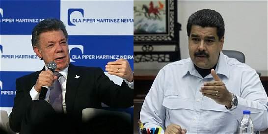 Actitudes hostiles de Maduro ponen en duda encuentro con Santos