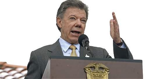 'Me he cuidado de no insultar': Juan Manuel Santos