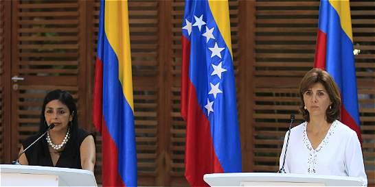Cancilleres de Colombia y Venezuela se reunirán este sábado en Quito