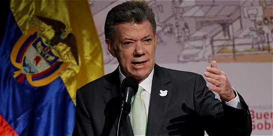 'Este problema con Ecuador lo vamos a arreglar a las buenas': Santos