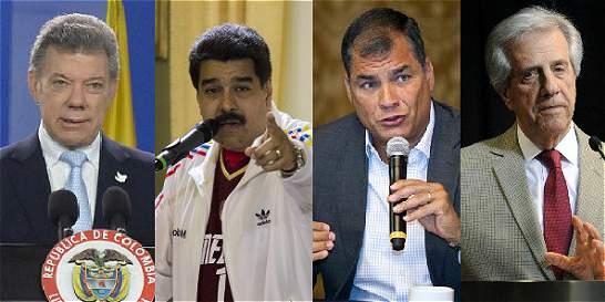 Lazo de Ecuador con Venezuela y Colombia, clave en cita sobre crisis