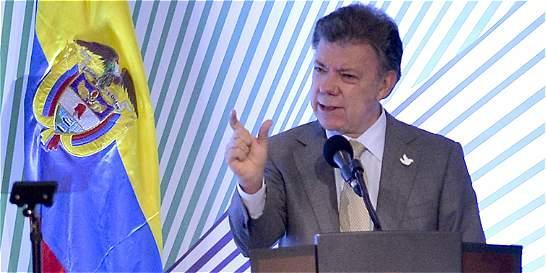 Santos ofrece sus condolencias a chilenos afectados por sismo