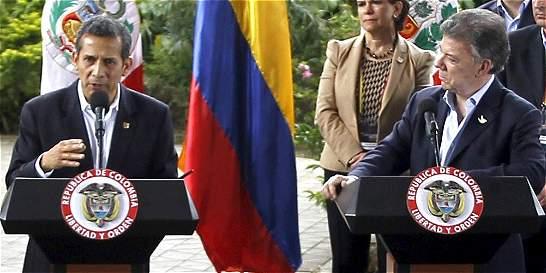 'Colombia está yendo en el camino correcto': Ollanta Humala