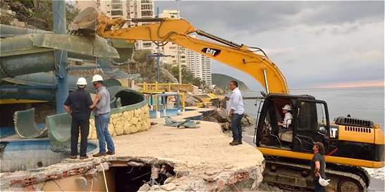 Buscan recuperar el El Rodadero símbolo turístico de Santa Marta