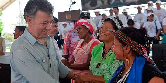 Santos pidió perdón por masacre de El Placer (Putumayo)