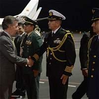 Presidente Santos ya está en Ecuador para cumbre de la Celac