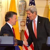 'Paz Colombia es una ayuda sin condición': Jhon Kerry