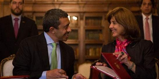 Emiratos quiere aprender del proceso de paz de Colombia