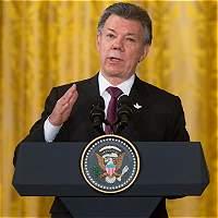 Santos comenzó campaña por el plebiscito por la paz