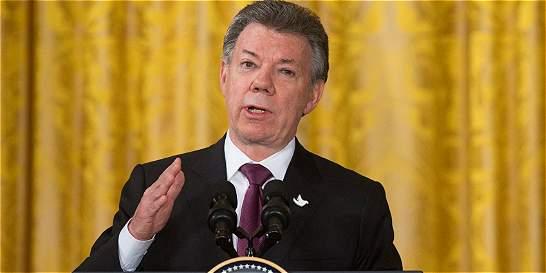 Santos arrancó campaña por el plebiscito por la paz
