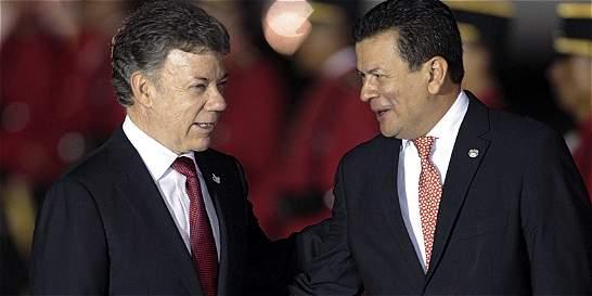 Presidente Santos potencia un mensaje de paz por Centroamérica