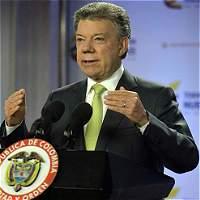 Presidente Santos le exige al Eln renunciar al secuestro