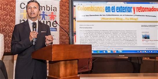 Colombianos en el exterior piden más canales de participación