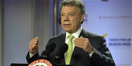 Imagen favorable de Santos es la más baja desde que es Presidente