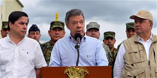Santos anuncia un gran plan social y de seguridad para el Catatumbo