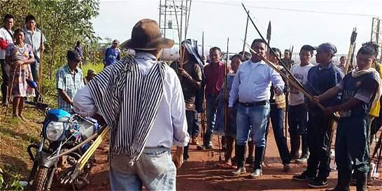 División de líderes del paro agrario impidió desbloquear vías del país