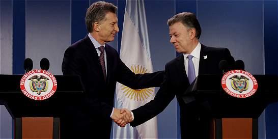 Colombia y Argentina acuerdan impulsar comercio bilateral