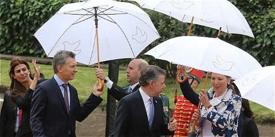 Tres ejes claves de la visita del Presidente argentino a Colombia