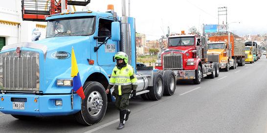 Nueva cita entre Gobierno y camioneros para levantar el paro