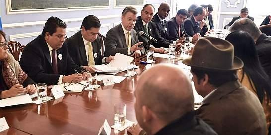 Así se verificarán los acuerdos con la Cumbre Agraria