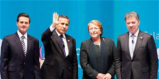 Para Chile, Colombia, México y Perú, el futuro es la integración