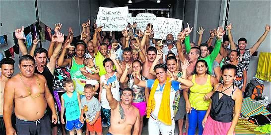 Inmigrantes ilegales varados en Turbo (Antioquia) serán deportados