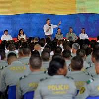 Santos dice que el galeón San José no caerá en manos de cazatesoros