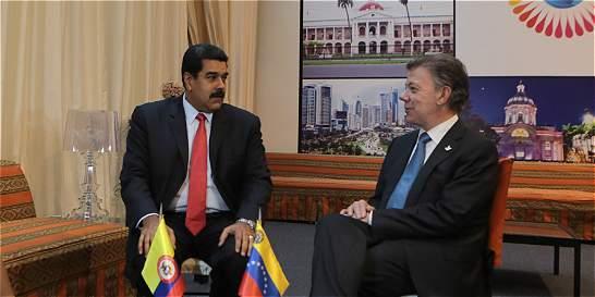 Maduro y Santos, en cita clave para reabrir la frontera