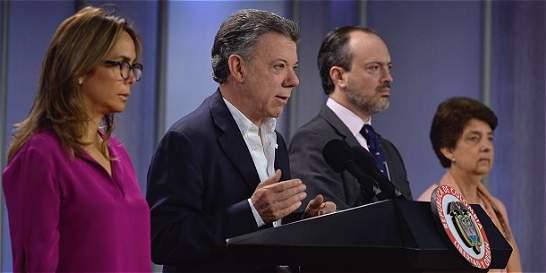 Santos dice que Gobierno no promueve 'la llamada ideología de género'