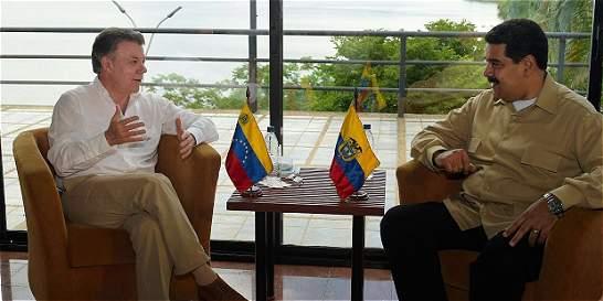 Presidentes Santos y Maduro ya se reúnen para hablar de la frontera