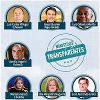 Santos publica la declaración de renta de sus ministros