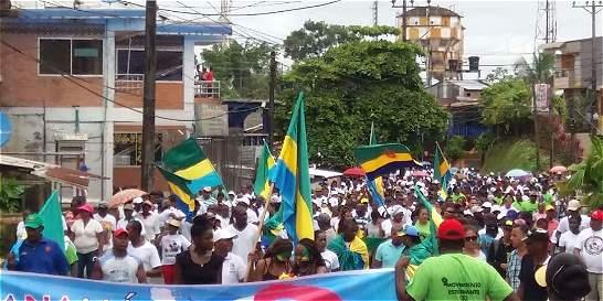 Inminente acuerdo para levantar el paro cívico en el Chocó