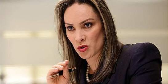 María Mercedes López, candidata de Santos a la Procuraduría