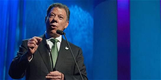 Presidente Santos pide a oposición y gobierno venezolanos dialogar