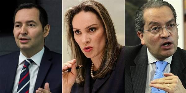 Al cargo de Procurador aspiran el exministro Fernando Carrillo, la exmagistrada de la Judicatura María Mercedes López, y el exvicefiscal Jorge Fernando Perdomo.