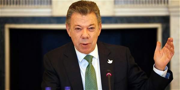 Presidente Santos viajará a Estados Unidos para exámenes médicos