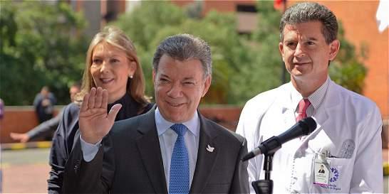 'No tengo metástasis ni ningún tumor', dice Santos